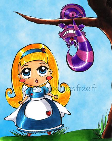 Alice au pays des merveilles FanArts. Alice1